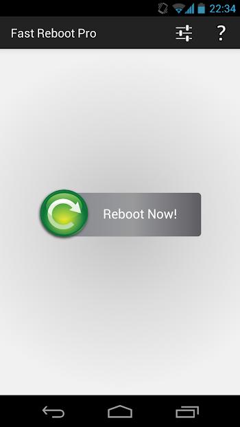 Fast Reboot Pro- screenshot