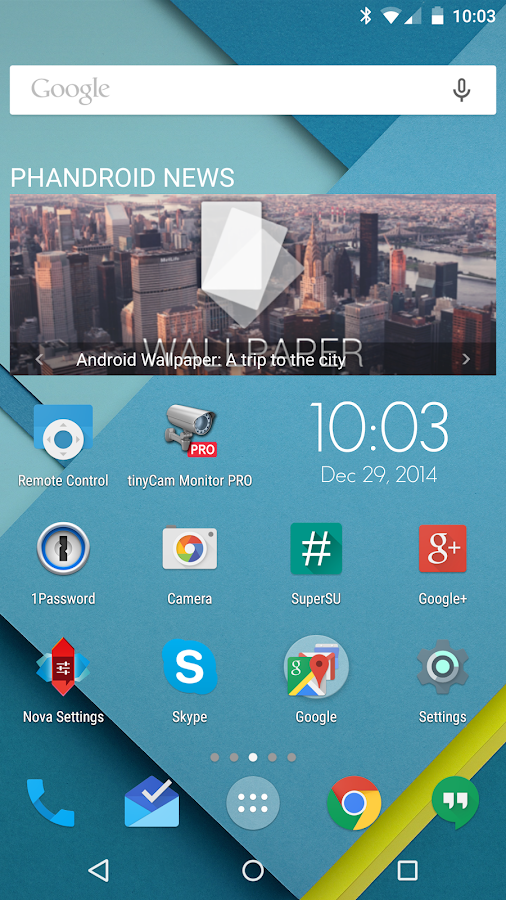 Phandroid News for Android™- screenshot