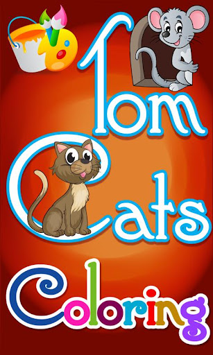 Tom Cats Coloring
