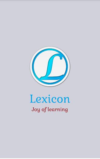 Lexicon - GRE TOEFL Words