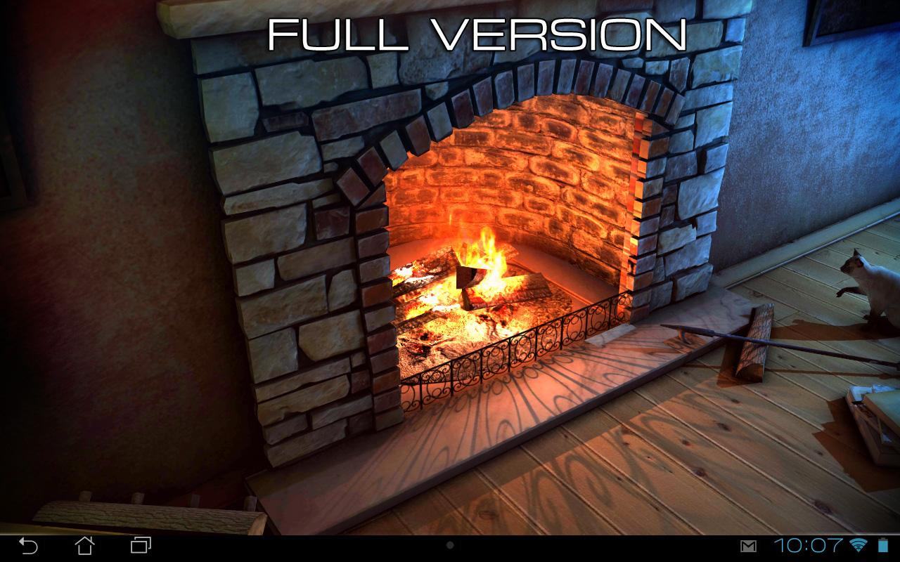 fireplace 3d free lwp android apps on google play
