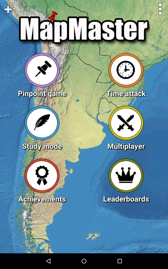 Mapmaster geography game android apps on google play mapmaster geography game screenshot sciox Gallery