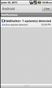 bidStalker for eBay screenshot 3