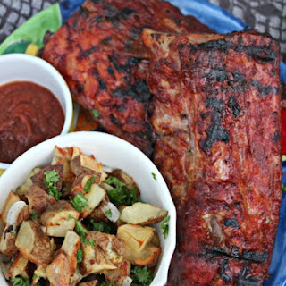 Baby Back Ribs With Mojo Barbecue Sauce