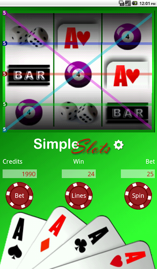 Simple Slots (Free)- screenshot