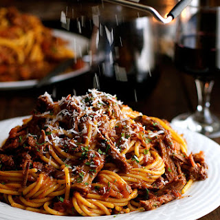 Slow Cooked Shredded Beef Ragu Pasta Recipe