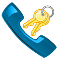 ICS Dialer Key logo