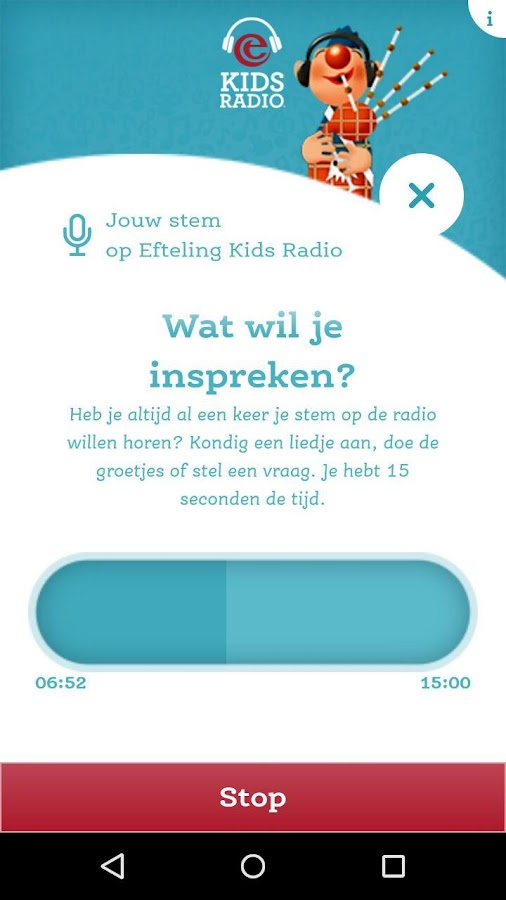 Efteling Kids Radio- screenshot