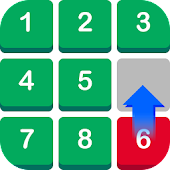 Number Puzzle: Slide to Sort