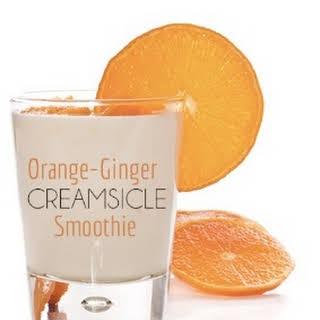 Orange-Ginger Creamsicle Smoothie.