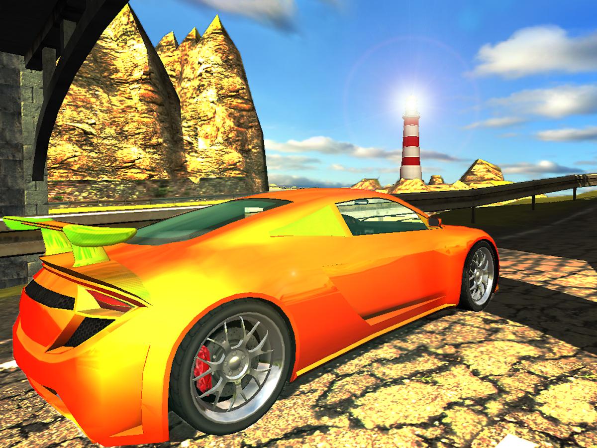 Drift thunder gran turismo screenshot