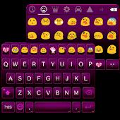 Pink Punk Emoji Keyboard