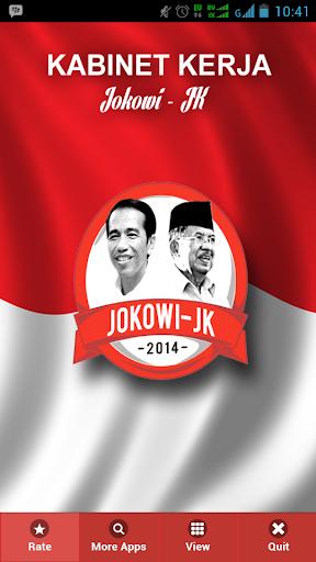 Kabinet Kerja Jokowi - JK