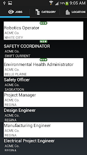 Jobs In Saskatchewan - screenshot thumbnail