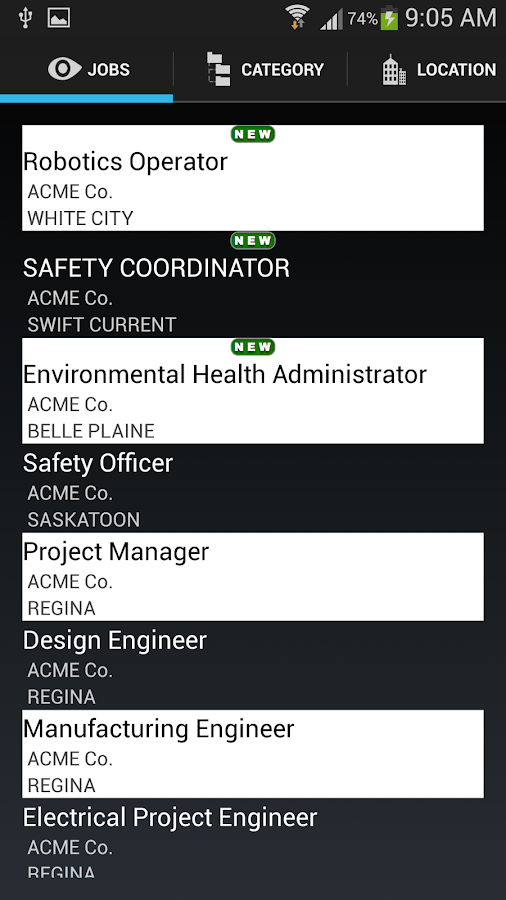 Jobs In Saskatchewan - screenshot