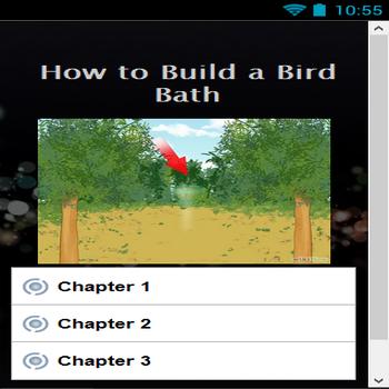 How to Build a Bird Bath