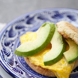 Goat Cheese & Avocado Egg Sandwiches