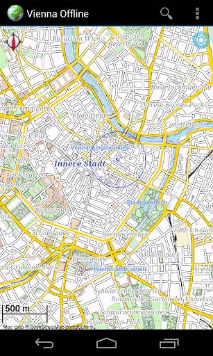 Offline Map Vienna Wien