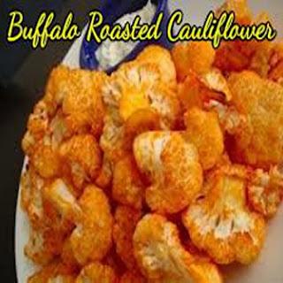 Buffalo Roasted Cauliflower.