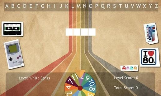 80s Word Game App- screenshot thumbnail