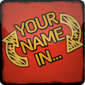 Your name in...