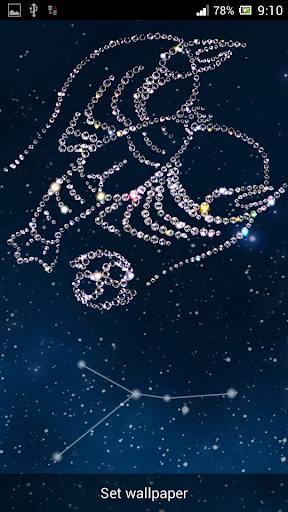 Zodiac Cancer Live Walpaper