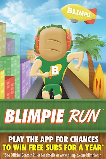 Blimpie Run