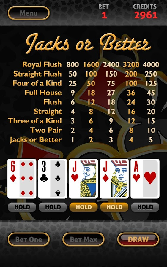 Vegas Video Poker HD - screenshot