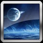 Ice Galaxy HD Live Wallpaper icon