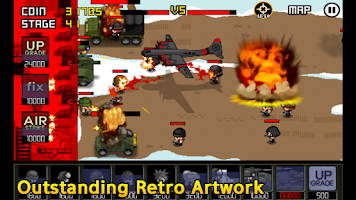 Screenshot of Army Wars Friends