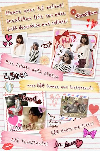 DecoAlbum Purikura Camera