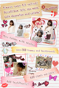 DecoAlbum Purikura Camera - screenshot thumbnail