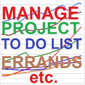 Project, Task/Errand Organizer