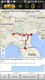 View Google Location History - screenshot thumbnail