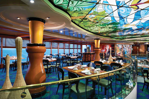 Norwegian-Dawn-Blue-Lagoon - Have a relaxing meal at Norwegian Dawn's Blue Lagoon, a 24/7 restaurant known for its comfort food and excellent service.