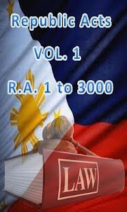 Philippine Laws - Vol. 1- screenshot thumbnail