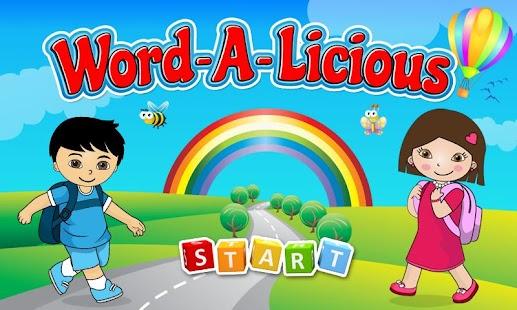 Wordalicious Toddler
