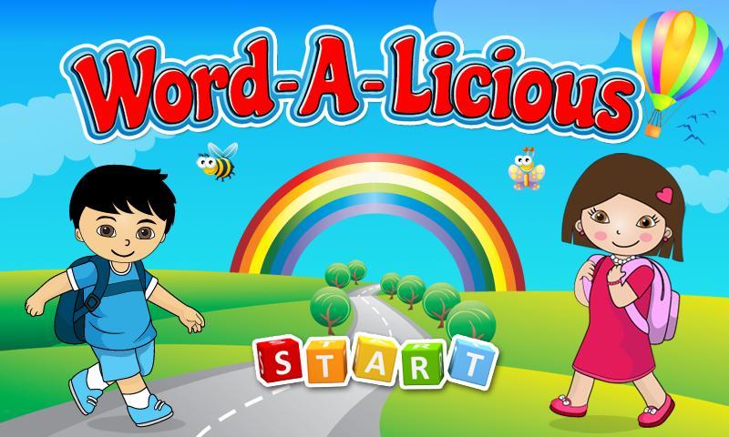 Wordalicious Toddler- screenshot