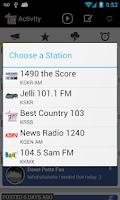Screenshot of 541 Radio