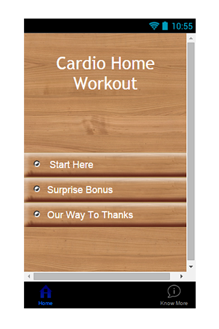 Cardio Home Workout Guide