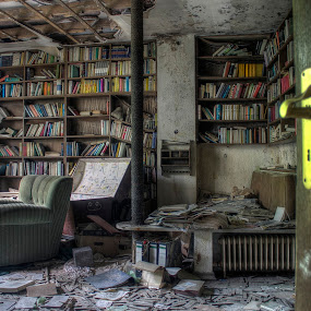 Pick a book by Greg Warnitz  - Buildings & Architecture Other Interior ( urban, book, anna, decay, abandoned )