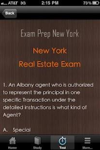 New York Real Estate Exam Prep- screenshot thumbnail
