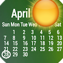 Weather Calendar Wallpaper