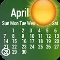 Weather Calendar Wallpaper icon