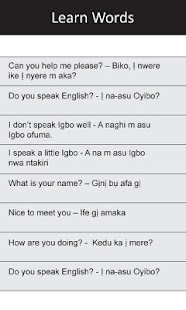 Ị Na-asu Igbo: Greetings I - screenshot thumbnail