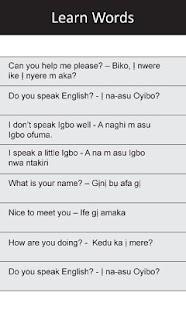 Ị Na-asu Igbo: Greetings I - screenshot thumbnail