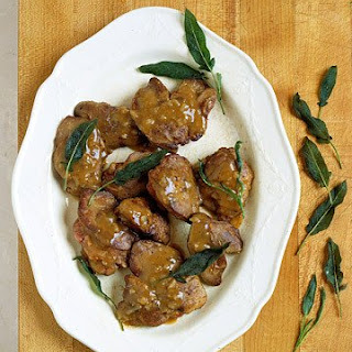 Chicken Livers with Shallots and Marsala.