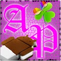 GOWidget AdeaPink ICS – Free logo