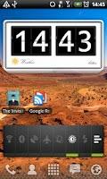 Screenshot of Bitter clock