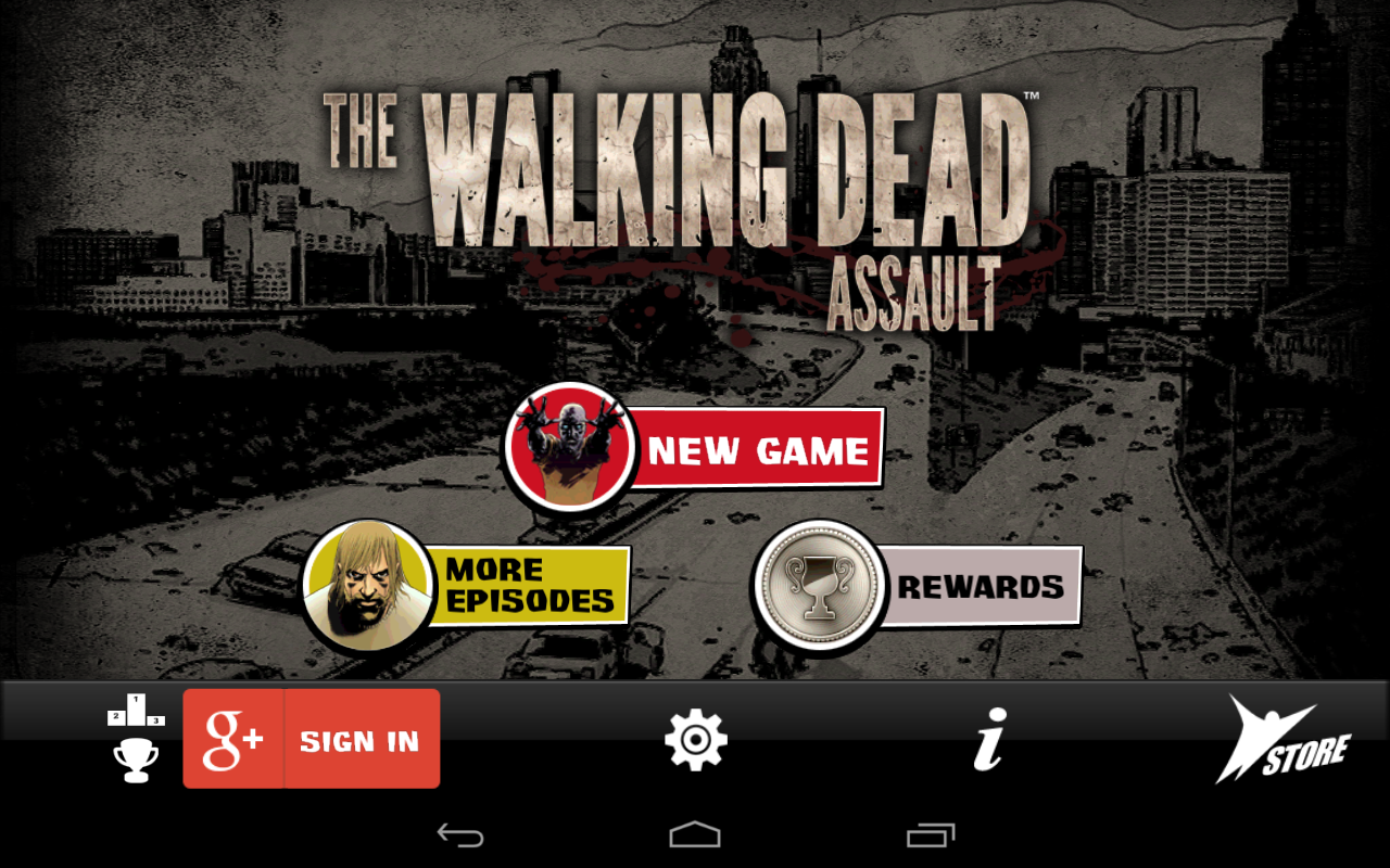 The Walking Dead: Assault - screenshot